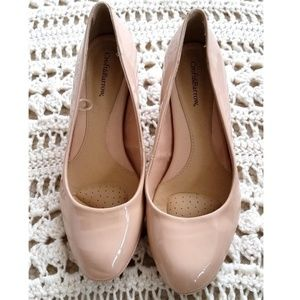 Croft and Barrow Nude High Heels